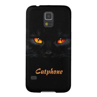 Un gato sin una caja de la galaxia S5 de Samsung d Carcasa De Galaxy S5