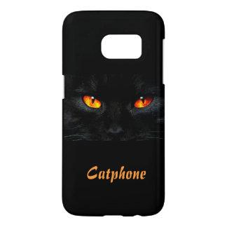Un gato sin una caja de la galaxia S7 de Samsung Funda Samsung Galaxy S7