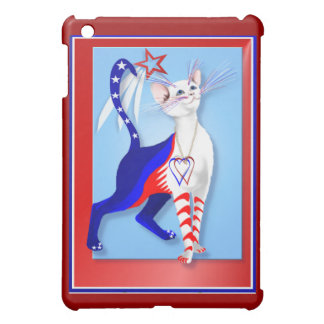 Un gato y una estrella americanos