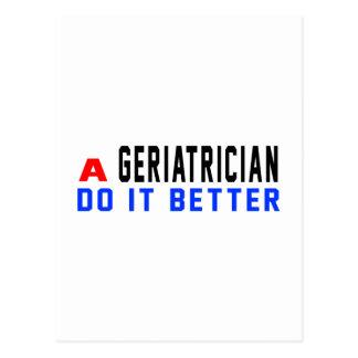 Un Geriatrician mejora Postales