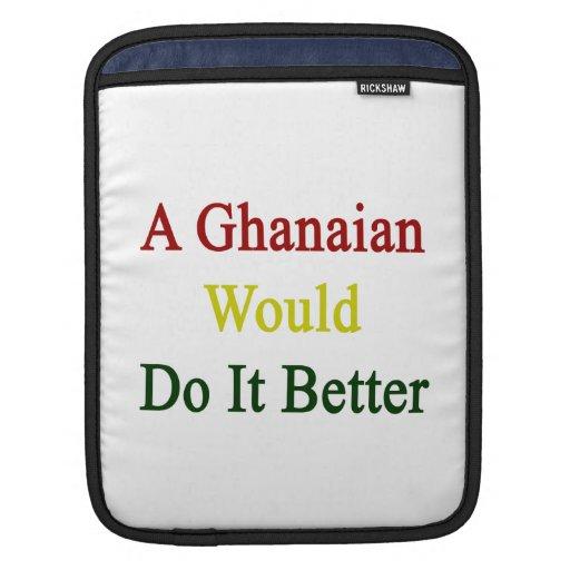 Un ghanés lo haría mejor funda para iPads