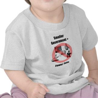 Un gobierno más pequeño camisetas