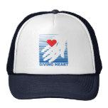 Un gorra de donante del corazón