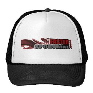 Un gorra más rápido del camionero de Sportbike