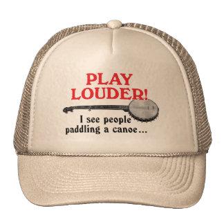 Un gorra más ruidoso del camionero del juego