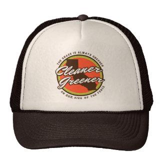 Un gorra más verde más limpio del camionero de Cal