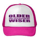 un gorra no más sabio más viejo