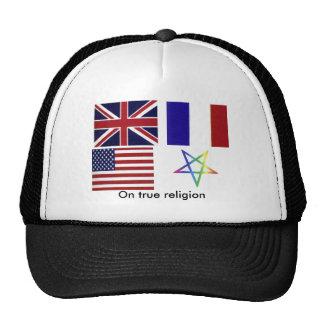 Un gorra verdadero de la religión