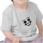 Un gráfico caprichoso del diseño de la cara del camisetas