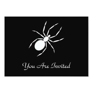 """Un gráfico de una araña invitación 5"""" x 7"""""""