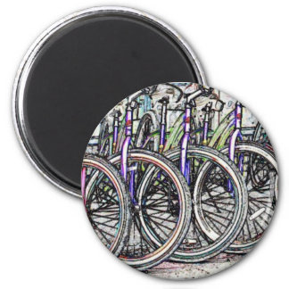 Un gran diseño de la bici iman
