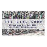 Un gran diseño de la bici tarjetas de visita
