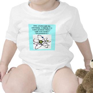 Un gran diseño de la física traje de bebé