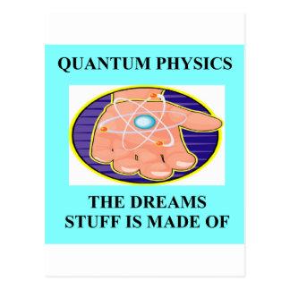 Un gran diseño de la física tarjetas postales