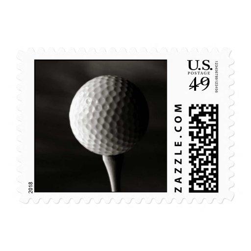 Un gran diseño del amante del golf franqueo