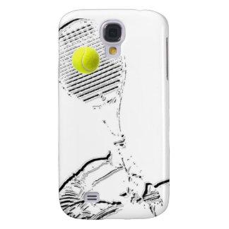 Un gran diseño del amante del tenis funda para galaxy s4