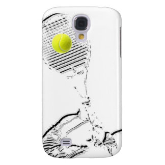 Un gran diseño del amante del tenis funda samsung s4