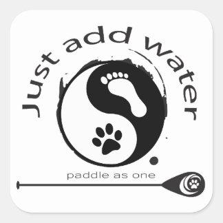Un gran pegatina para los amantes del paddleboard