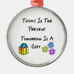 Un gran regalo adornos