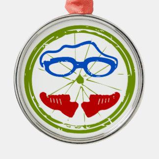 Un gran regalo del Triathlon para su amigo o Ornamento De Navidad