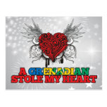 Un granadino robó mi corazón tarjeta postal
