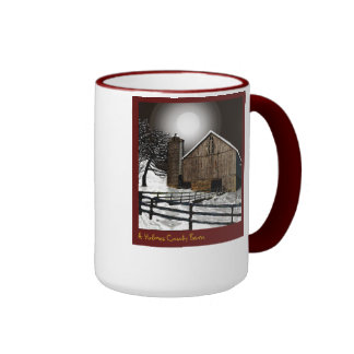 Un granero del condado de Holmes Tazas De Café