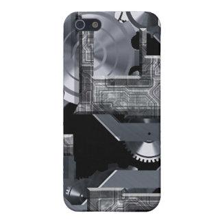Un gris del mecanismo iPhone 5 carcasas