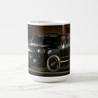 Un guerrero urbano americano - taza de café de