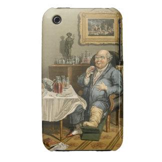 Un gusto exquisito, con una comprensión agrandada funda bareyly there para iPhone 3 de Case-Mate