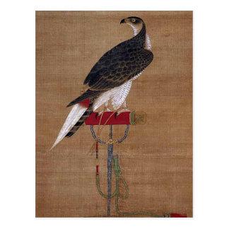 Un halcón - voluta coreana del siglo XVI Tarjeta Postal