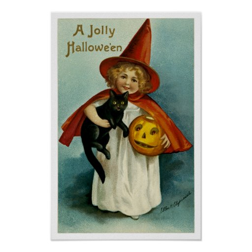 Un Hallowe'en alegre Póster