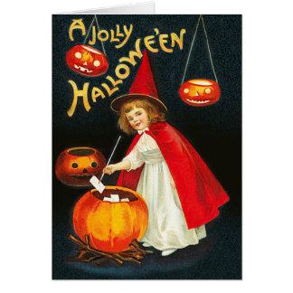 Un Hallowe'en alegre Tarjeta De Felicitación