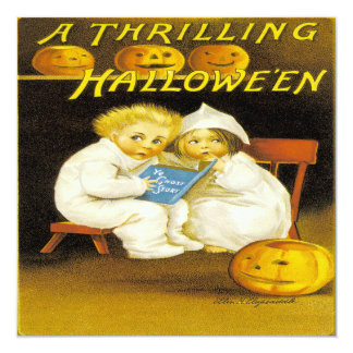 Un Halloween que emociona Invitaciones Personalizada