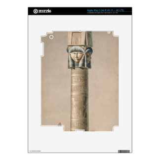 Un Hathor dirigió el pilar en Dendarah, ejemplo ' iPad 3 Skin