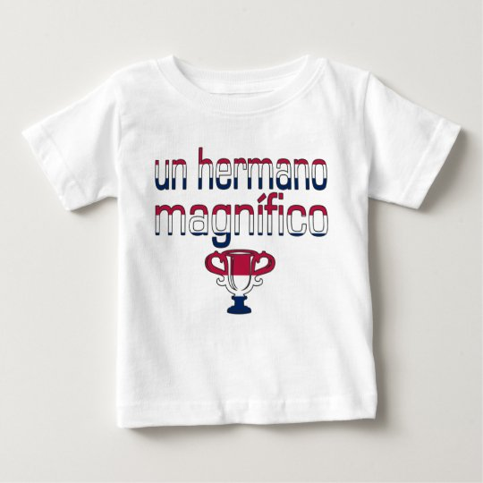 Un Hermano Magnífico America Flag Colors Baby T-Shirt