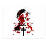 Un Héroe-Abraham sangriento Lincoln Tarjeta Postal