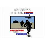 Un héroe real - militar postales