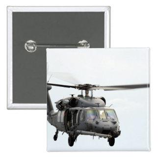 Un HH-60 pavimenta el helicóptero del halcón Pin Cuadrada 5 Cm