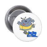 un hipopótamo de dieta divertido del paso a la vez pins