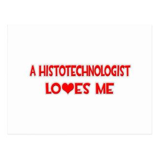Un Histotechnologist me ama Tarjeta Postal