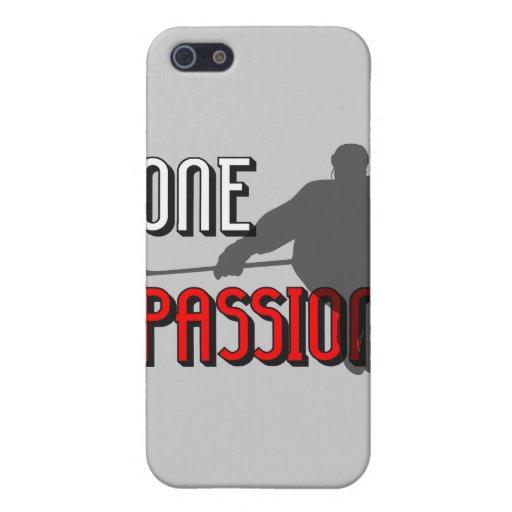 Un hockey de la pasión iPhone 5 carcasas