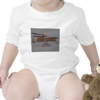 Un hogar de Eichler en un T #1 Traje De Bebé
