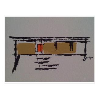Un hogar de Eichler en un T #3 Tarjeta Postal