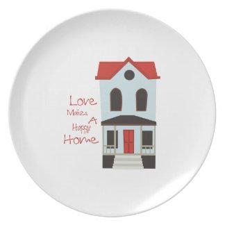 Un hogar feliz platos