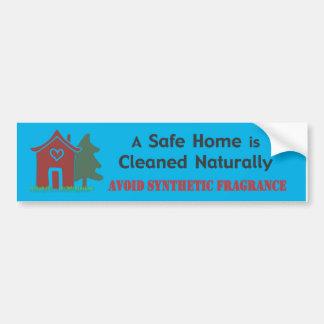 Un hogar seguro - pegatina pegatina para auto