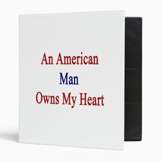 """Un hombre americano posee mi corazón carpeta 1"""""""