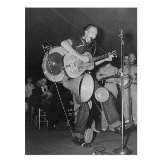 Un hombre Band, 1938 Tarjetas Postales