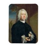 Un hombre desconocido en el negro, 1735 (aceite en iman