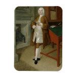 Un hombre desconocido en una biblioteca, c.1740-41 imanes flexibles