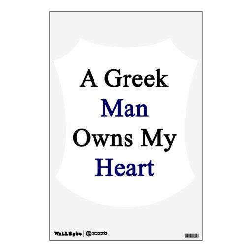 Un hombre griego posee mi corazón